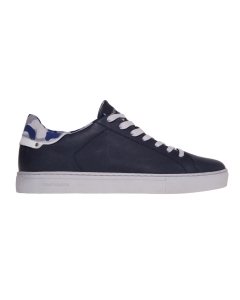 Sneaker crime london in pelle  Blu