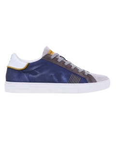 Sneaker Crime London in tessuto effetto jeans Jeans
