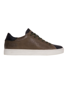 Sneaker crime london in pelle  Verde