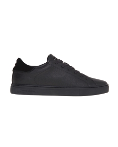 Sneaker crime london in pelle bottalata  Nero