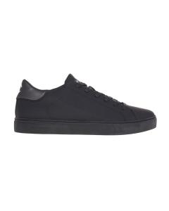 Sneaker Crime London in pelle effetto gommato Nero