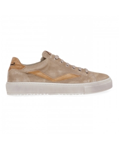 Sneaker Voile Blanche Fit II in camoscio  Tabacco