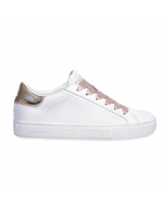 Sneaker Crime London in pelle  Bianco