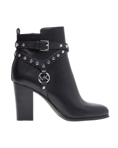 "Tronchetto Michael Kors ""Preston Bootie"" in pelle nera Nero"