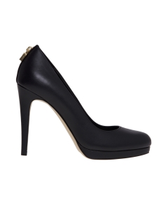 "Decollete' michael kors ""antoinette pump"" in pelle nera Nero"
