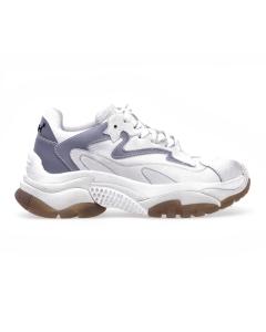 Chunky sneaker ash addict Bianco