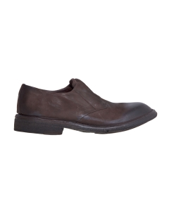 Derby slip-on lemargo in pelle ingrassata  Testa D.m.