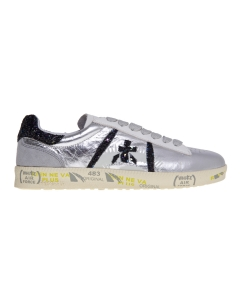"Sneaker premiata ""andy"" in pelle laminata argento Argento"
