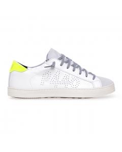 "Sneaker P448 ""John"" in pelle  Bianco (whi/yfgla)"