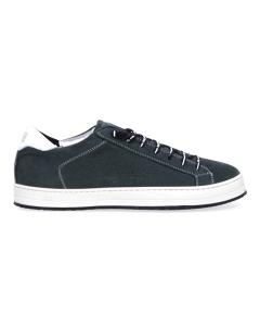 """Sneaker p448 """"john"""" in nabuck  Verde (luxor)"""