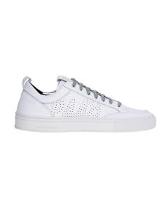 Sneaker p448 in pelle total white Bianco
