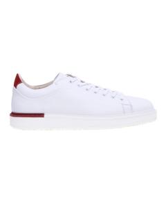 Sneaker Fabi in pelle martellata  Bianco