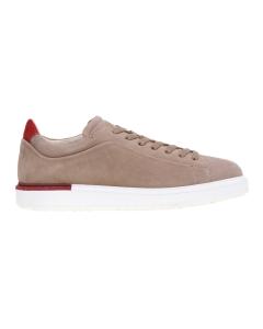 Sneaker Fabi in camoscio Sabbia