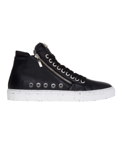 Sneaker Paciotti 4US in pelle  Nero