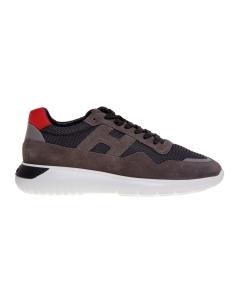Sneaker hogan interactive³ in camoscio e tessuto tecnico  Grigio - Antrac.