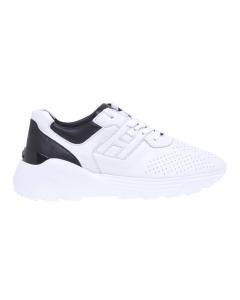 "Sneaker hogan h443 ""active one"" in nappa forata Bianco"