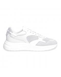 Sneaker Hogan Hyperlight in pelle e camoscio  Ghiaccio