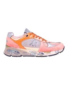 """Sneaker Premiata """"Mase"""" special edition made in Italy Arancio / Corallo"""