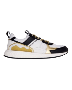 Sneaker moa - master of arts in tessuto e pelle Bianco