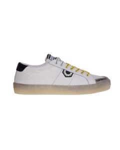 Sneaker moa in pelle bianca Bianco
