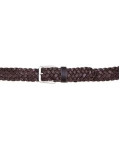 Cintura Minoronzoni in pelle intrecciata Testa D.m.