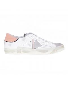 Sneaker Philippe Model Prsx Mixage in pelle e camoscio Bianco
