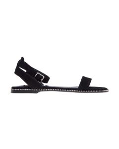 Sandalo flat steve madden  Nero