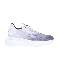 Chunky sneaker Paciotti 4US in canvas sfumato  Bianco