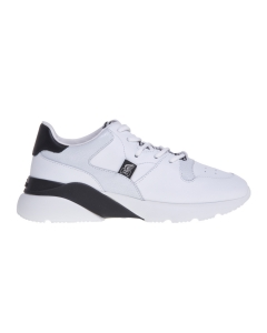 Sneaker Hogan Active One in pelle con dettagli shiny Bianco