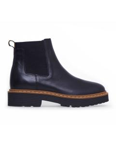 Chelsea boot hogan in pelle  Nero