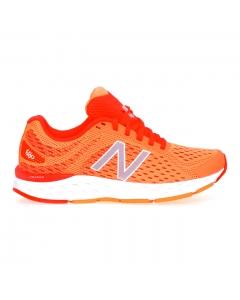 Sneaker running New Balance in tessuto  Arancio