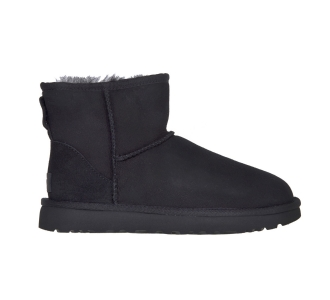 Ugg-classic mini in camoscio water resistant-1016222 Nero