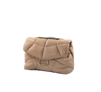 La carrie bowling soft s&s bag Beige