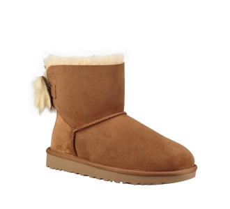 Ugg-fluff bow mini-1094967 Cuoio