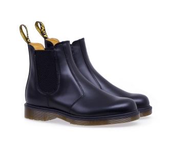 Chelsea boot Dr Martens 2976 in pelle Nero