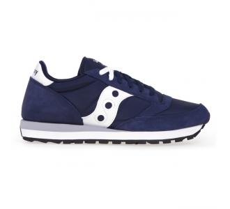 Sneaker Saucony Jazz in tessuto e camoscio  Blu