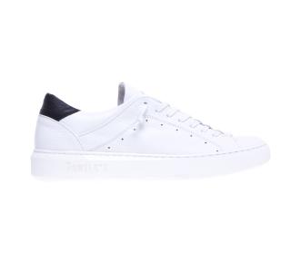 Sneaker Pawelk's in pelle con lacci semicoperti Bianco