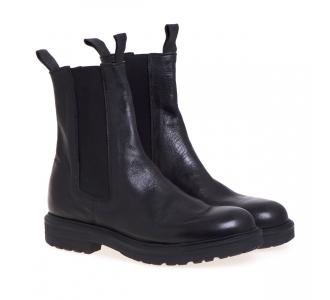 Chelsea boot Pawelk's in pelle  Nero
