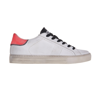 Sneaker crime london in pelle  Bianco