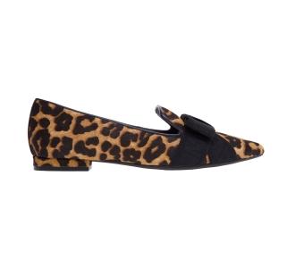 "Pantofola michael kors ""ames flex loafer"" in cavallino leopardato Leopardato"