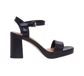 Sandalo Bibi Lou in pelle  Nero