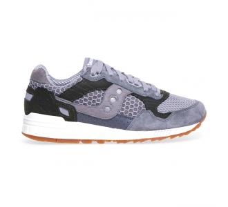 Sneaker Saucony Shadow 5000 in tessuto e nabuck Grigio