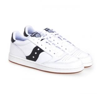 Sneaker Saucony Jazz Court in pelle  Bianco - Nero