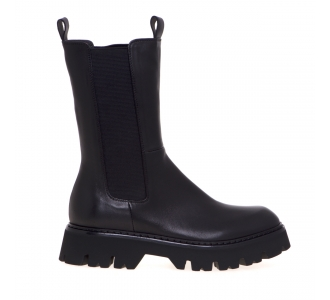 Chelsea boot Fru.it in pelle  Nero