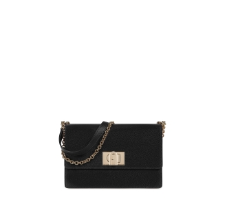 "Tracolla ""furla 1927 s crossbody"" in pelle  Nero"