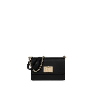 "Tracolla ""furla 1927 mini crossbody 20"" in pelle  Nero"