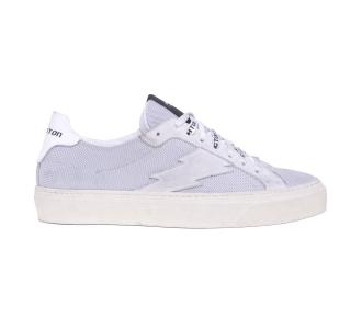Sneaker Stokton in tessuto tecnico e camocio  Grigio