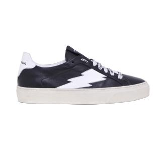 Sneaker Stokton in pelle  Nero