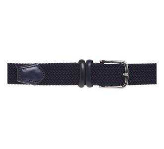 Cintura Gavazzeni in treccia elasticizzata  Blu
