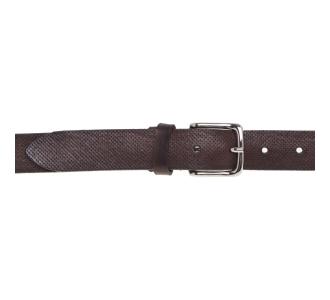 Cintura Gavazzeni in pelle forata Testa D.m.